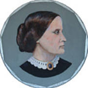 Susan B Anthony Coin Art Print