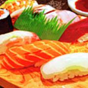 Sushi Plate 1 Art Print