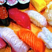 Sushi Plate 4 Art Print