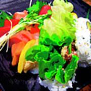 Sushi Plate 5 Art Print