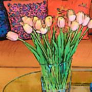 Suzannes Flowers Art Print
