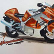 Suzuki Hayabusa Art Print