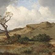 Swabian Landscape Art Print