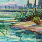 Swallowtail Riverside Art Print