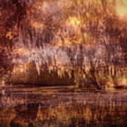 Swamp 3 Art Print