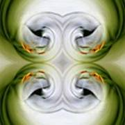 Swan Dancing Art Print