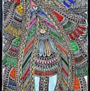 Swan Fish Art Print