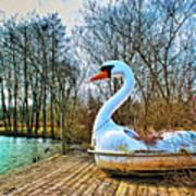 Swan Song Art Print
