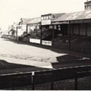 Swansea - Vetch Field - North Bank 1 - Bw - 1960s Art Print