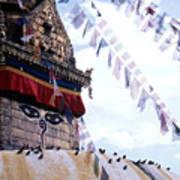 Swayambhunath II Art Print