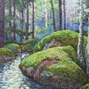 Swedish Woods Art Print