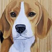 Sweet Beagle  Art Print