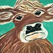 Sweet Cow Art Print