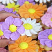 Sweet Floral Array Art Print