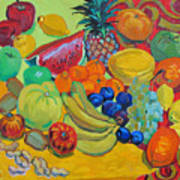 Sweet Fruits Art Print