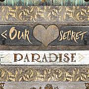 Sweet Paradise Series Art Print