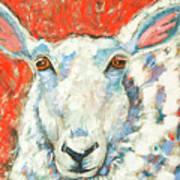 Sweet Sheep Art Print