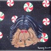 Sweet Treats For Yorkie Art Print