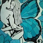 Sweethearts. Art Print