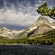 Swiftcurrent Lake Art Print