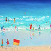Swim Day Art Print