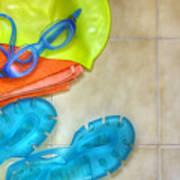 Swimming Gear Art Print
