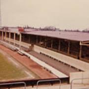 Swindon - County Ground - Main Stand 1 - 1970 Art Print