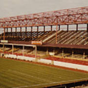 Swindon - County Ground - Main Stand 2 - 1970s Art Print