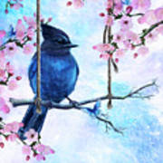 Swing Into Spring Art Print