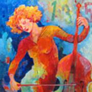 Swinging At Club 135 Art Print by Susanne Clark