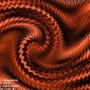 Swirl Creativiana Catus 1 No.2 H A Art Print