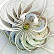 Swirling Petals Art Print