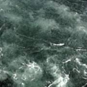Swirling Water. Art Print