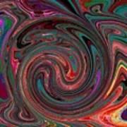 Swirlpool Art Print