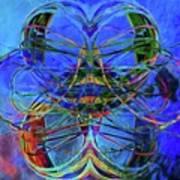 Swirls Abstract Art Print