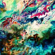 Swirls Of Paint Xii Art Print