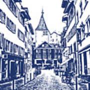 Swiss Street Art Print