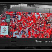 Swiss Train To Zurich Art Print