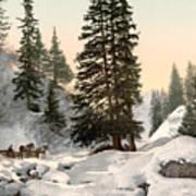 Switzerland: Davos, C1895 Art Print