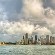 Sydney After A Rainstorm Art Print