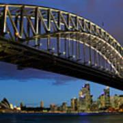 Sydney Harbor Bridge Art Print