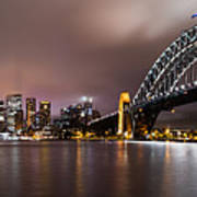 Sydney Harbor Art Print