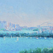 Sydney Harbour And The Opera House Art Print