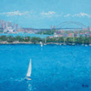 Sydney Harbour And The Opera House Vacation Art Print