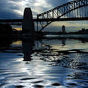 Sydney Harbour Bridge Reflection Art Print