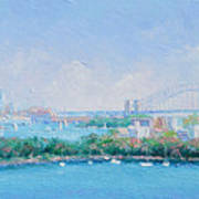 Sydney Harbour Bridge - Sydney Opera House - Sydney Harbour Art Print