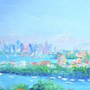 Sydney Harbour Impression Art Print
