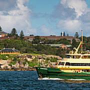 Sydney Harbour Panorama Art Print