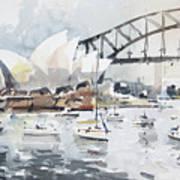 Sydney Opera  Art Print