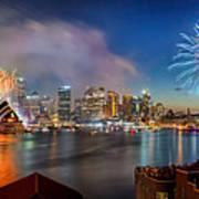 Sydney Sparkles Art Print